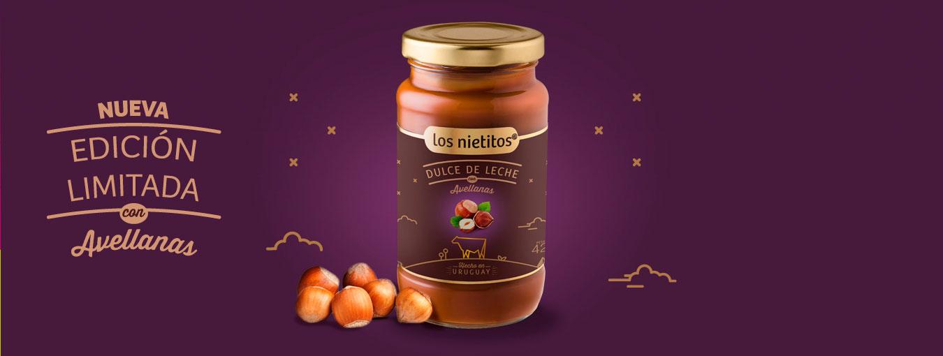 Dulce de Leche con Avellanas, edición limitada